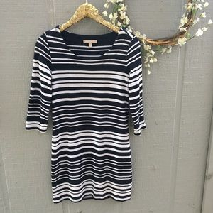 Banana Republic striped casual dress. Size small.